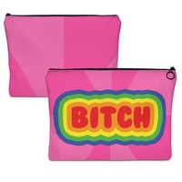 Bitch O-Zip Pouch
