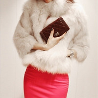 Women fashion winter jacket 2014 Winter Warm New Korean Fashion Luxury Quality Overcoats Women's Rabbit Fur Coats Fur jacket Outerwear coats WT1233 = 1932636804