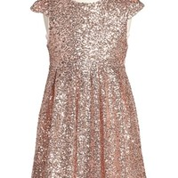 Girl's ilovegorgeous 'Moon Festival' Sequin Dress