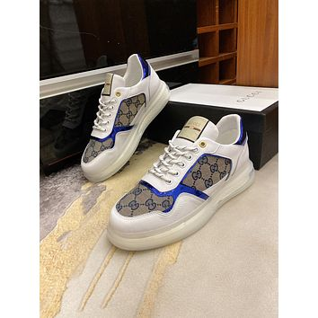 Gucci2021 Men Fashion Boots fashionable Casual leather Breathable Sneakers Running Shoes06120cx