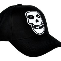 Misfits Skull Hat Baseball Cap Gothic Psychobilly Punk Horror Clothing