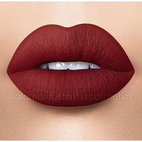 Vamp - Waterproof, smudge proof,  transfer proof,  and 24 hour stay DARK RED  Matte Liquid lipstick