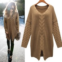 Bat sleeve sweater coat from Girl Boutique