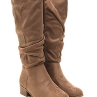 Slouch Essential Vegan Suede Boots