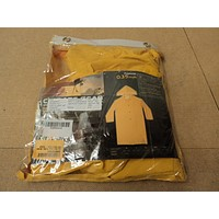 Custom Leathercraft Mfg. Trench Coat Yellows .35mm Raincoat R105XL PVC -- New