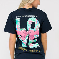 Do Everything In Love Tee   Simply Southern