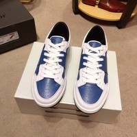 Dior Men's Leather B02 Fashion Low Top Sneakers Shoes