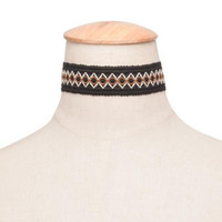 Ethnic Style Choker Necklace + Gift Box