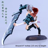 League of Legends Riven The Exile Figure Classic Skin 16cm