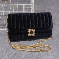 Winter Chain One Shoulder Messenger Bags [6581200327]