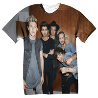 One Direction Sublimation all over printed tshirt
