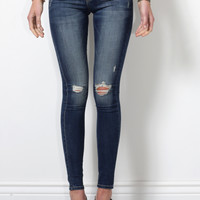 Flying Monkey High Waisted Distressed Skinny