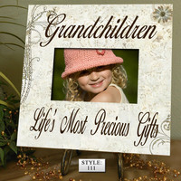 GC Gift for Grandparents, Grandma gift, Grandpa gift, Grandchildren Photo Frame, Grandchildren Picture Frame, Grandchildren Sign Nana Gift