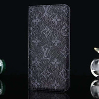 Louis Vuitton LV Leather Fashion iPhone Phone Cover Case For iphone 6 6s 6plus 6s-plus 7 7plus 8 8plus X