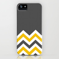 Color Blocked Chevron 14 iPhone & iPod Case by Josrick