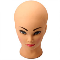 Mannequin Head Bust Wig Hat for Wig Display in Shops and School Make-up Courses
