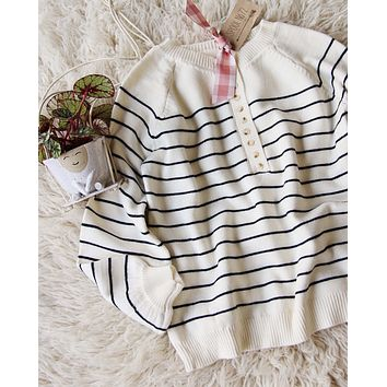 Juniper Stripe Sweater