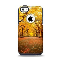 The Fall Back Road Apple iPhone 5c Otterbox Commuter Case Skin Set