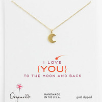 Dogeared 'To the Moon & Back' Pendant Necklace   Nordstrom