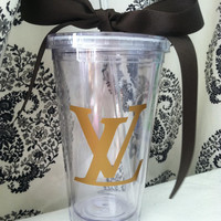 16oz Louis Vuitton Inspired Tumbler
