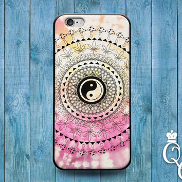 iPhone 4 4s 5 5s 5c 6 6s plus iPod Touch 4th 5th 6th Generation Cute Custom Spiral Pretty Ying Yang Colorful Phone Cover Cool Boy Girl Case