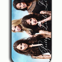 iPhone 4S Case - Rubber (TPU) Cover with Dirty Face Pretty Little Liars Rubber Case Design