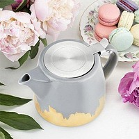 Pinky Up Ceramic Teapot & Infuser