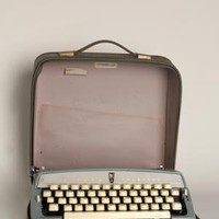 Vintage Typewriter and Case @ Libby Story