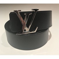 Louis Vuitton LV Belt Reversible Black/brown 40inch 100% Authentic