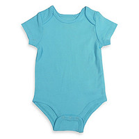 Mayfair Infants Wear Unisex Short-Sleeve Bodysuit in Aqua
