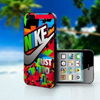 Nike Just Do It Colorful - Photo On Hard Cover For iPhone 5