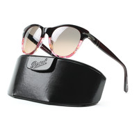 Persol 2990 Sunglasses 950/87 Two Tone Red, Pink Blue Gradient Lens PO2990S 50 mm