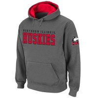 Northern Illinois Huskies Knockout Pullover Hoodie - Charcoal