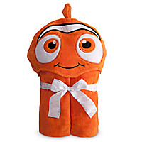Finding Nemo Hooded Towel for Baby - Personalizable