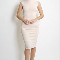 Marina Midi Dress - Blush