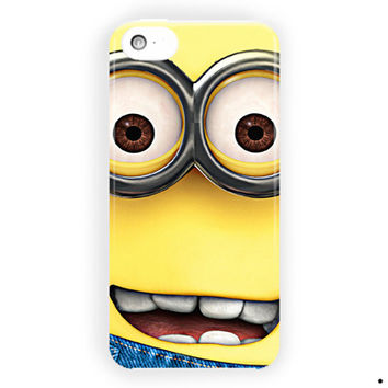 Despicable Me Minion Cartoon Movie For iPhone 5 / 5S / 5C Case