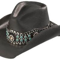 Bullhide Own the Night Straw Cowgirl Hat - Sheplers