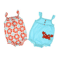 Carters 2 pack Printed Infant Girls One-Piece