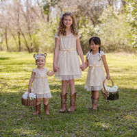 Country Girl Flower Girl Dress