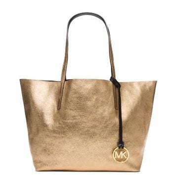 Izzy Large Reversible Leather Tote | Michael Kors