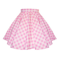 Strawberry Skies — MTO - Sweetie Gingham Circle Skirt