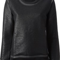 Iro sheer panels sweatshirt
