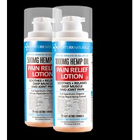 Sports RX Naturals Hemp Oil Pain Relief Lotion