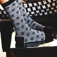 Le Bourget Womens Mesmerize Crew Sock
