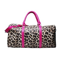 PREORDER * Leopard and Camo Duffel Travel Bag