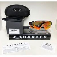Oakley JAWBREAKER Sunglasses OO9290-3031 PURPLE POP FADE / PRIZM RUBY