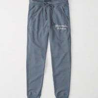 Womens Embroidered Logo Jogger   Womens New Arrivals   Abercrombie.com