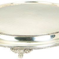 Stainless Steel Sp Cake Stand With 15 Inches Diameter
