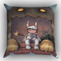 Where the Wild Things Are cartoon WALLPAPER Y0610 Zippered Pillows  Covers 16x16, 18x18, 20x20 Inches