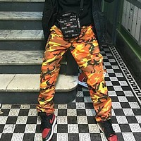 Mens Baggy Camouflage Hip Hop Pants Trousers